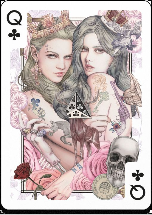 Fantastical Playing Card Collaborations
