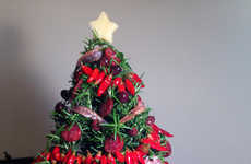 Edible Gourmet Christmas Trees - Luxirare's Edible Christmas Tree is Made from Rosemary