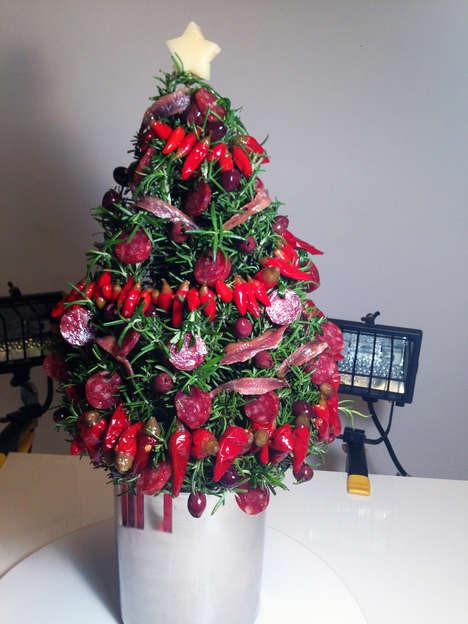 Edible Gourmet Christmas Trees