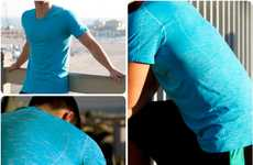 Odorless Athletic Apparel - These SilverAir Shirts are Scent Resistant for Athletes