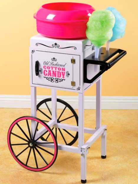 Nostalgic Cotton Candy Makers