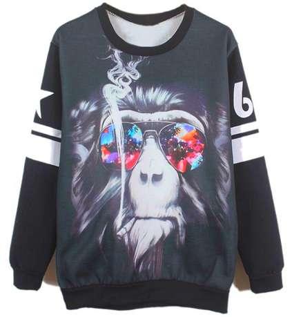 Blitzed Baboon Sweaters