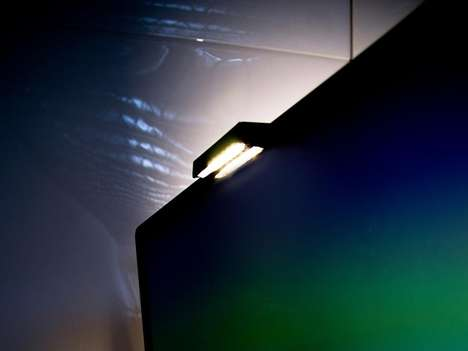 Mountable Illuminating Screen Lights