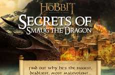 Fictional Dragon Finance Graphics - Finances Online Shows the Riches of Smaug from the Hobbit Sequel