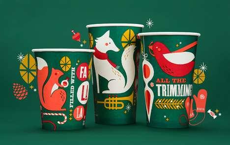 Enchanting Christmas Cups