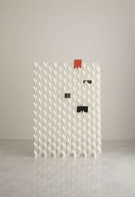 Woven Paper Partitions