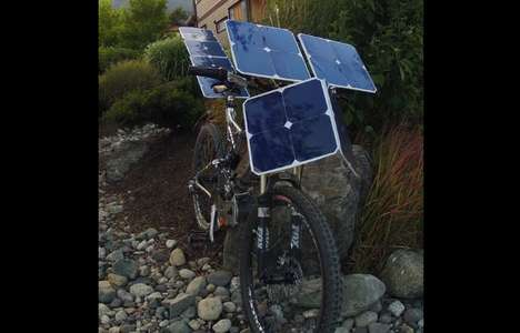 Solar Paneled Pushbikes