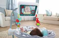 Tablet-Integrated Baby Seats
