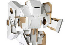 Automaton Cardboard Constructions - Make Your Own Fun with Your Cardboard Robot Toy