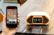 Customized Intelligent Alarm Clocks - The SONDI is a Custom Alarm Clock That is App-Controlled