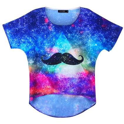 This Mustache Shirt From Romwe is Lip Scratchingly Loud