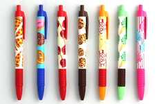 Sweetly Scented Writing Utensils. - The Snifty Scented Pens Make for Delicious Documents