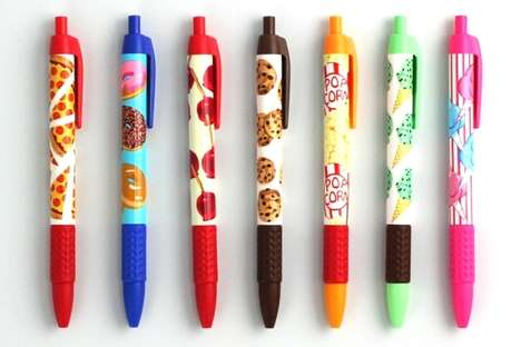 Sweetly Scented Writing Utensils.