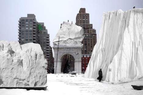 Urban Snow Playgrounds
