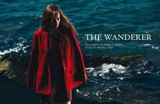 Epic Scarlet Editorials - The Fashion Gone Rogue 'The Wanderer' Photoshoot Stars Martina Vobornikova