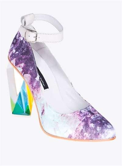 Kaleidoscopic Crystal Heels