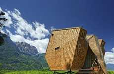 Sci-Fi Alpine Structures - The Ufogel Lodge Fuses a Contemporary Concept with Traditional Practices