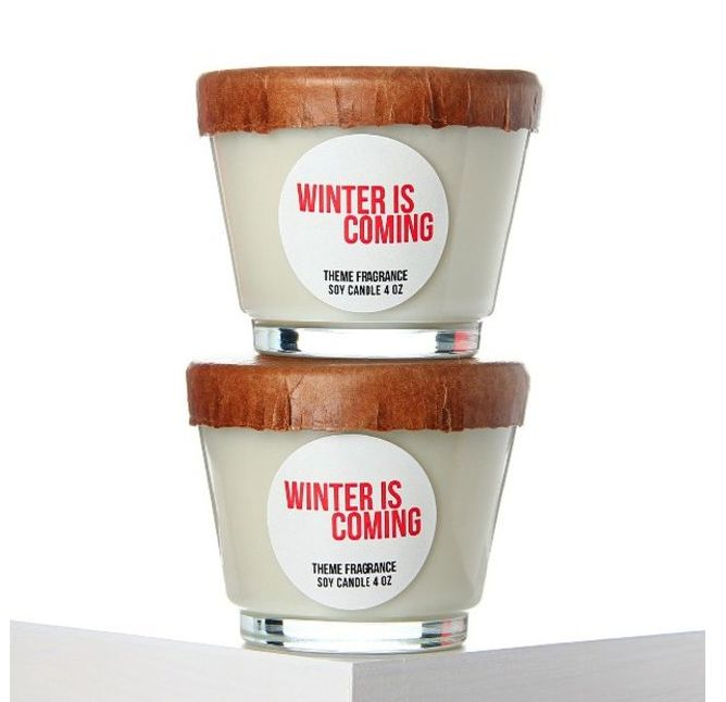 Winter Holiday Candles
