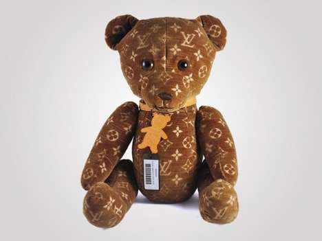 $9,000 Plush Toys - The Louis Vuitton Teddy Bear isn't too Soft on the Bank Account
