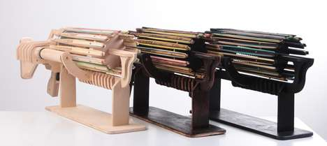 Automatic Rubber Band Weapons - Destroy the Competition with the Rubber Band Machine Gun