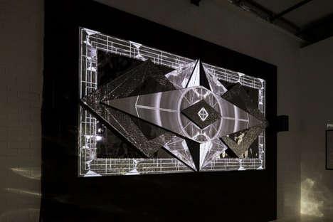 3D Ceramic Tile Sculptures