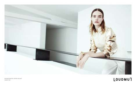 Modern Menswear-Inspired Fashion Ads