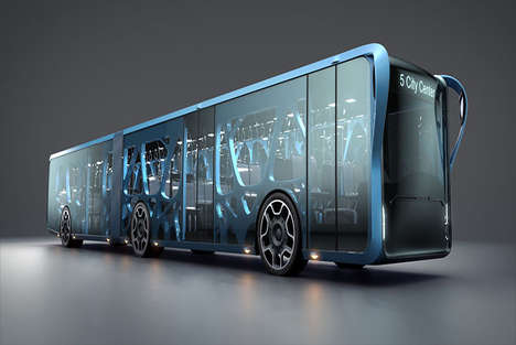 Interactive LCD Buses