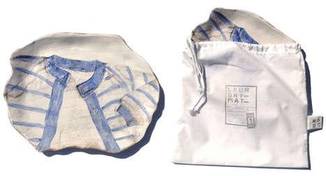 Wrinkled Shirt-Imprinted Plates