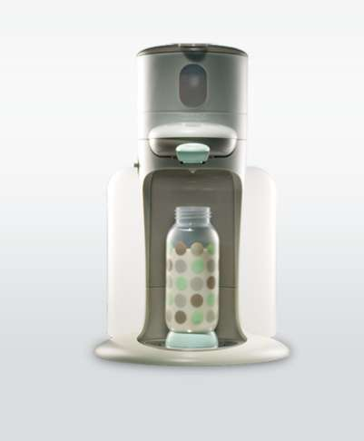 Hi-Tech Bottle Warmers - Beaba's Baby Bottle Warmer is Sophisticated & Makes Parents' Lives Easier