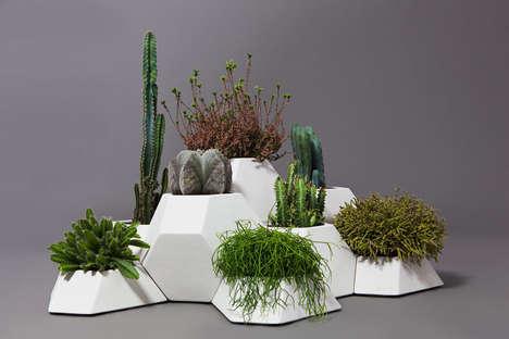 Angular Modular Garden Pots