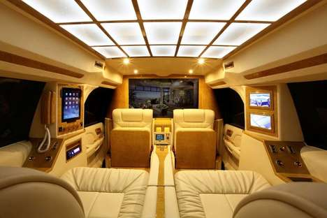 Private Jet-Themed Vehicles