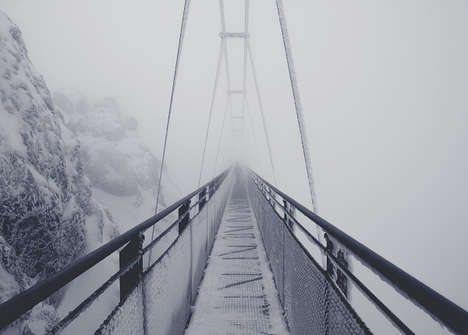 Misty Mountaintop Photography