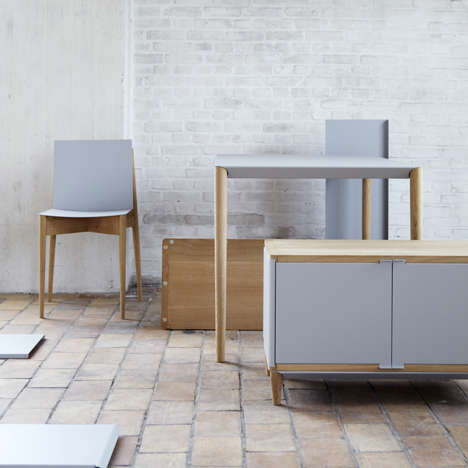 Magnetized Office Furniture