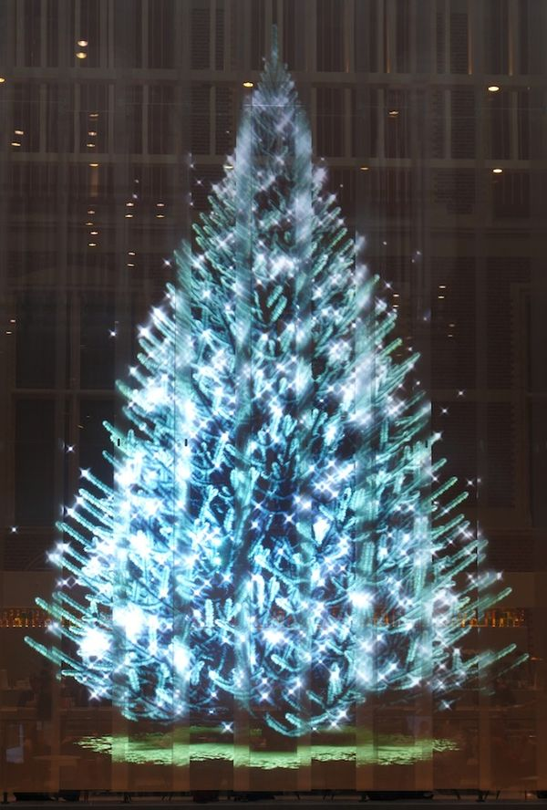 Hologram Christmas Tree Projector.Holographic Christmas Trees Holographic Projection