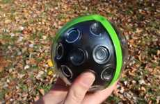 Spherical Sweeping Picture-Takers (UPDATED) - The Panono Ball Camera Captures 36 Angles When Thrown