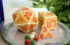 Geeky Holiday Dice Dessert - The D20 Gingerbread House is Made for Nerdy Festivities