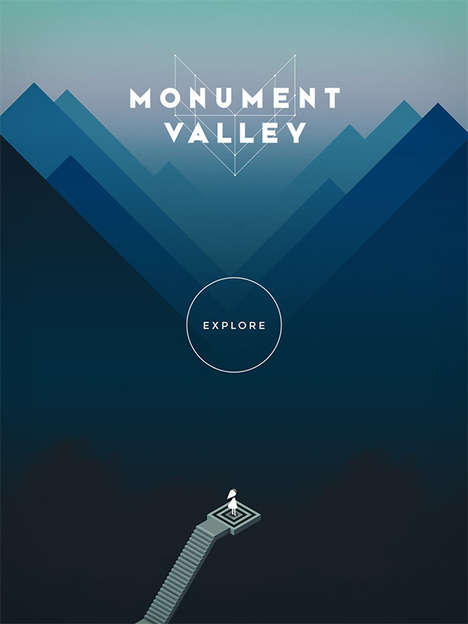 The Monument Valley Game App Combines Technology and Illusion