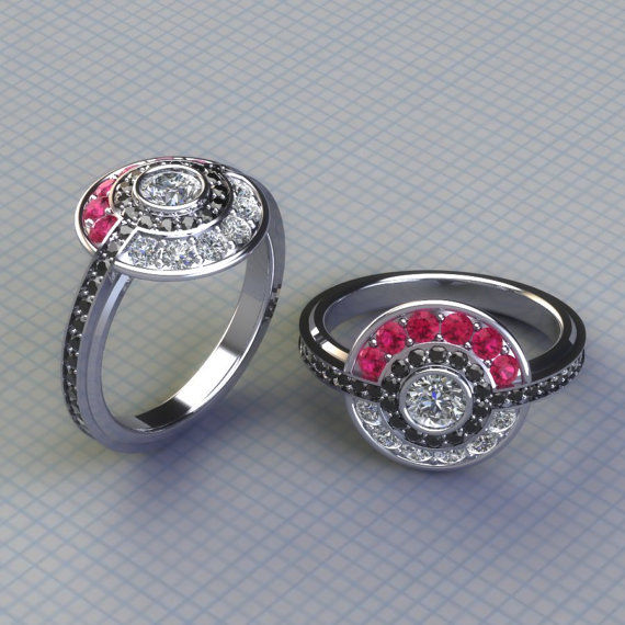 Pop Perfect Ring Diamontrigue Jewelry: 22 Pop Culture Engagement Rings