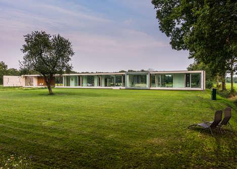 Privately Open Concept Estates