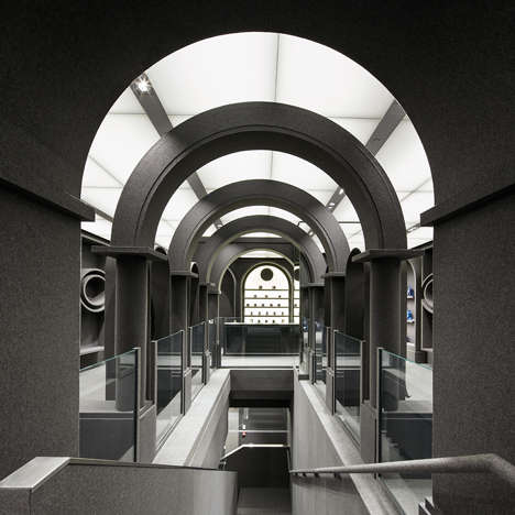 Felt-Clad Designer Stores - Viktor & Rolf's Flagship Store is Completely Covered in Felt