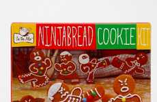Fierce Gingerbread Making Kits - Make Untraditional Desserts with the Ninjabread Cookie Kit