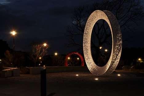 Circular Outdoor Sculptures