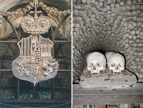 Skeleton-Decorated Cemeteries