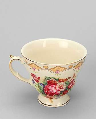 Quaint Booze Tea Cups