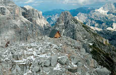 Alpine Summit Refuge Cabins - The 'Bivacco Luca Vuerich' Cabin is Named After the Late Climber
