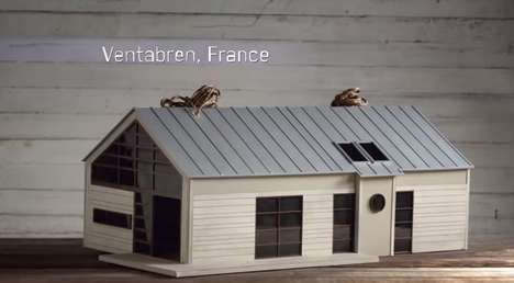 Shared Accomodation-Inspired Birdhouses