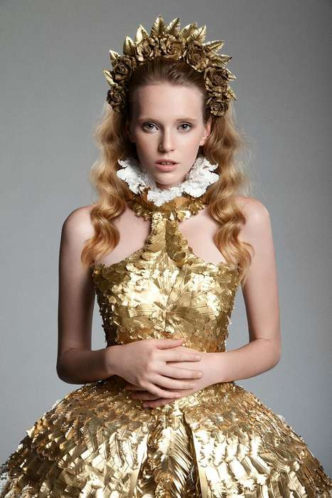 Femininely Regal Fashion