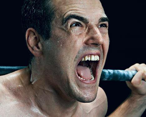 Intense Athletic Portraits