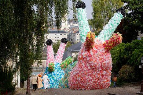 Stupendous Plastic Bag Structures