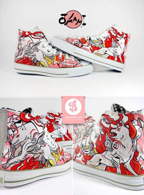 Artistic Custom Shoes